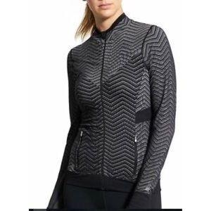ATHLETA Seamless Novelty Zip Up Jacket